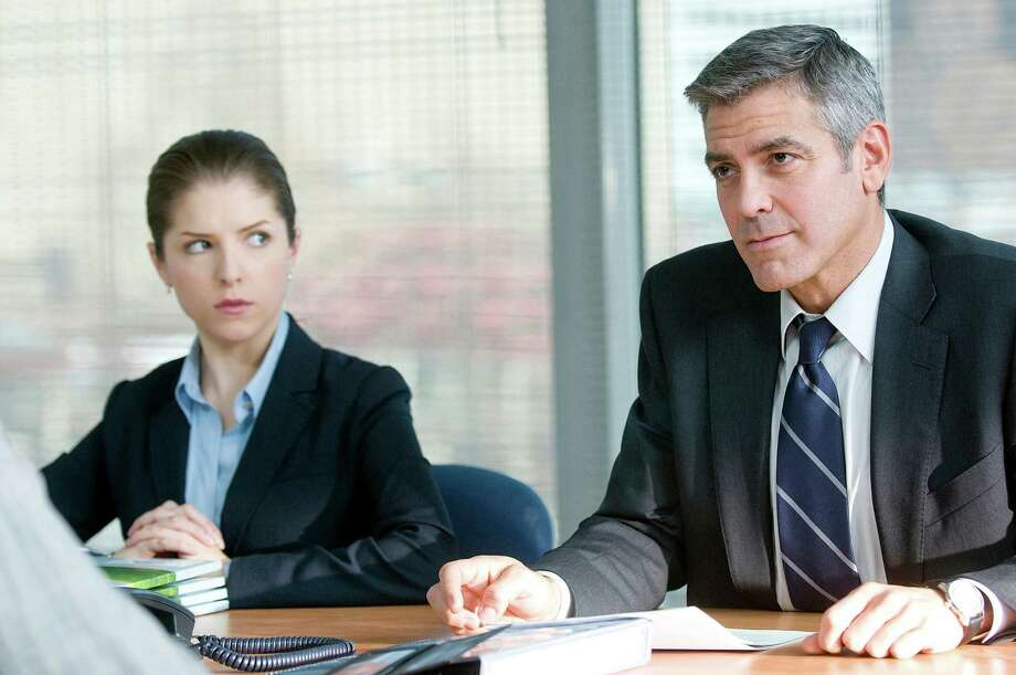 UP IN THE AIR - Anna Kendrick and George Clooney  in Up in the Air. Photo: Dale Robinette / handout