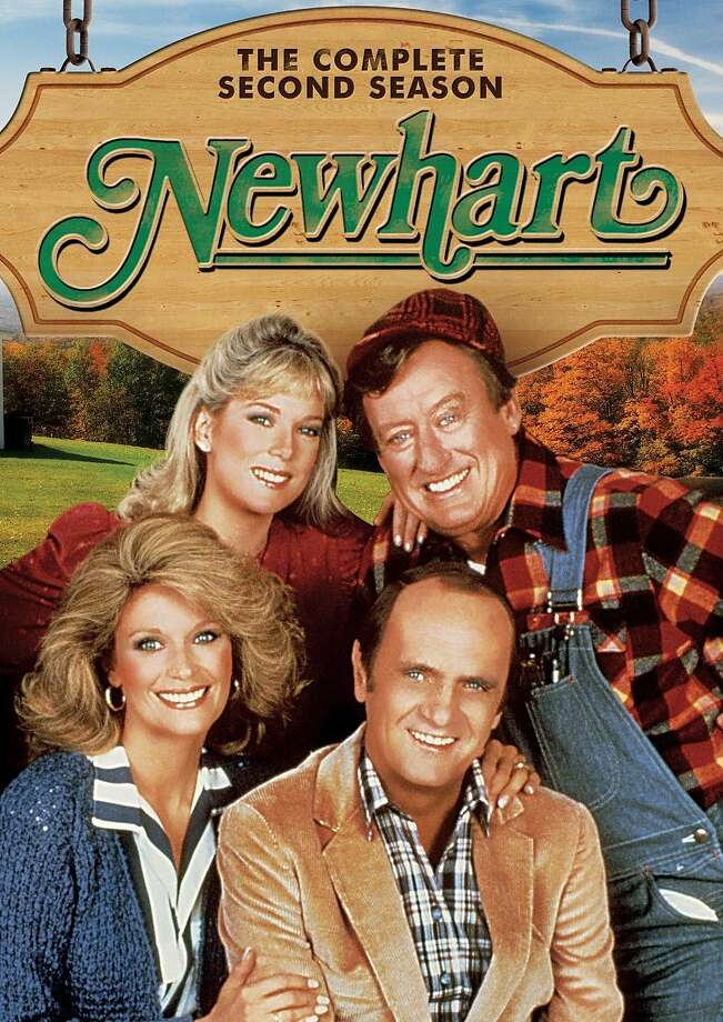 "dvd cover: ""Newhart: The Complete Second Season"" Photo: Shout! Factory, Amazon.com"