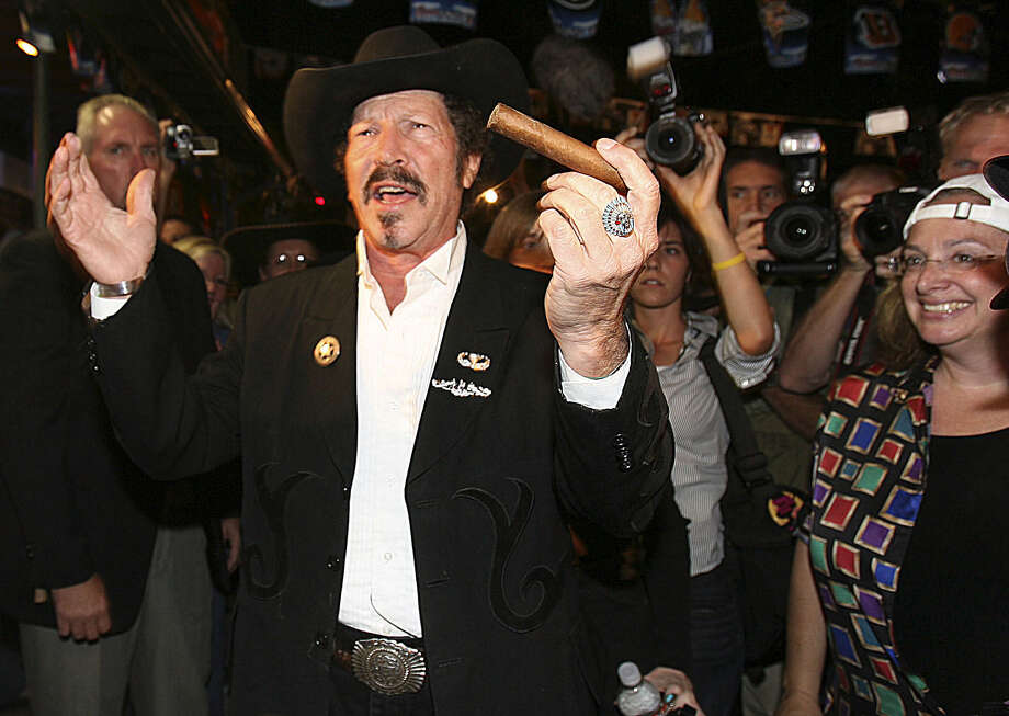 "Musician and humorist Kinky Friedman is not even running for Texas governor this time around, and yet one of our readers says he has a friend who would vote for him quicker than you could say ""biscuits in the oven."" Photo: Express-News File Photo / SAN ANTONIO EXPRESS-NEWS"