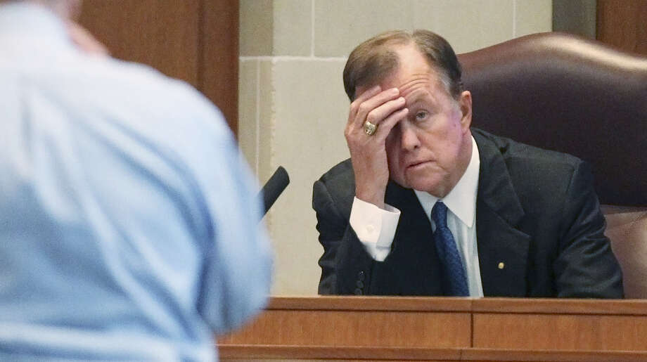 New District 9 Councilman Joe Krier wants to explore the possibility of a public vote on the streetcar project. Why didn't somebody in office think of that sooner? Photo: Kin Man Hui / San Antonio Express-News / ©2013 San Antonio Express-News
