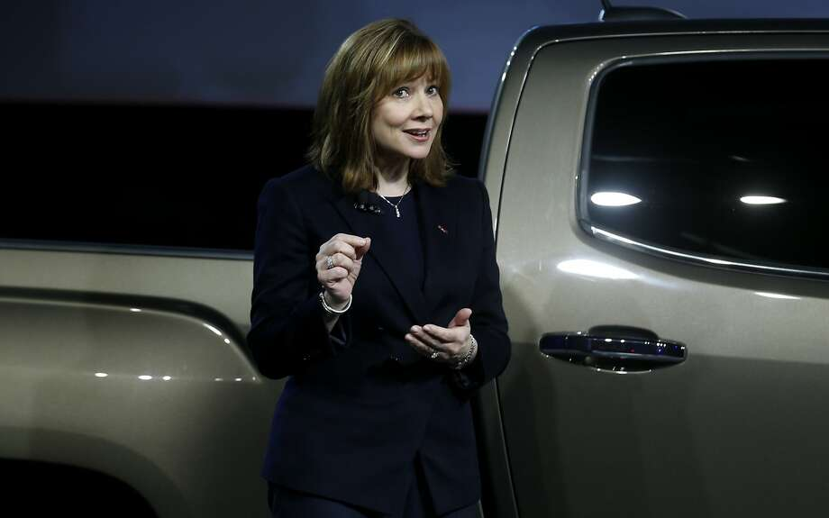General Motors CEO Mary Barra said restructuring costs hurt the automaker's bottom line last quarter but will make the company stronger. Photo: Rebecca Cook, Reuters