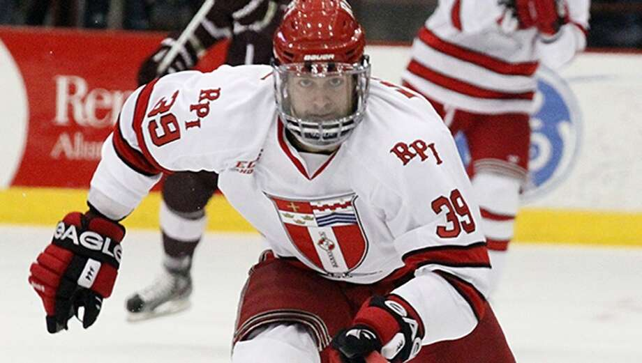 Stamford native Ryan Haggerty is RPI's leading scorer wit 21 goals and 12 assists in 24 games.
