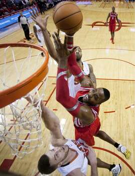 Feb. 5: Rockets 122, Suns 108  Dwight Howard's big night (34 points and 14 rebounds) helped the Rockets get revenge on the Suns - who beat them at Toyota Center earlier in the season.  Record: 33-17 Photo: Brett Coomer, Houston Chronicle