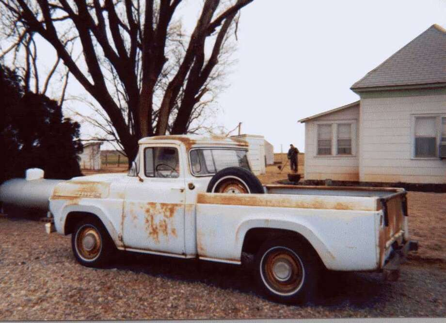 Kevin Coe first saw what was to become his classic Ford truck in the small town of Elmer, Okla., when the original owner pulled into a co-op.