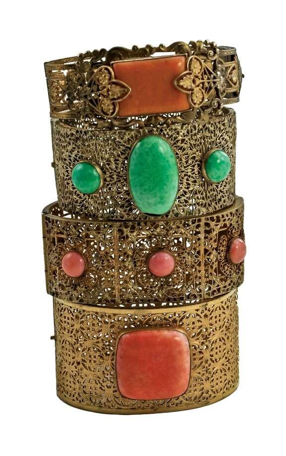 1930s Napier bracelet.