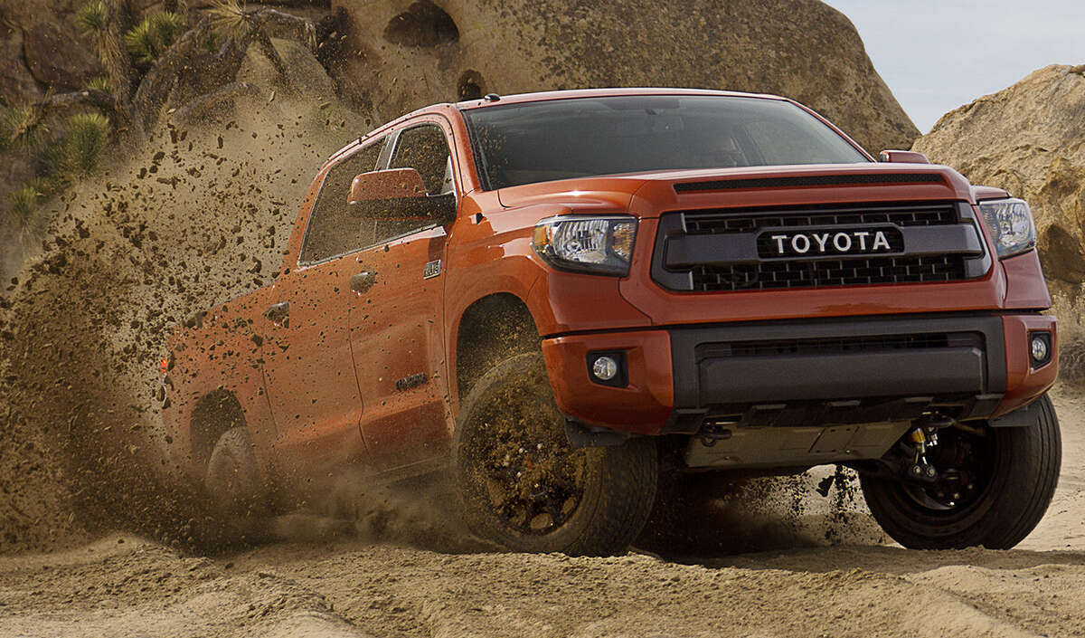 """Production of the off-road models starts next fall. San Antonio workers only need to add a new color to their paint shop and prepare to stamp """"TRD Pro"""" on the quarter bed panels."""