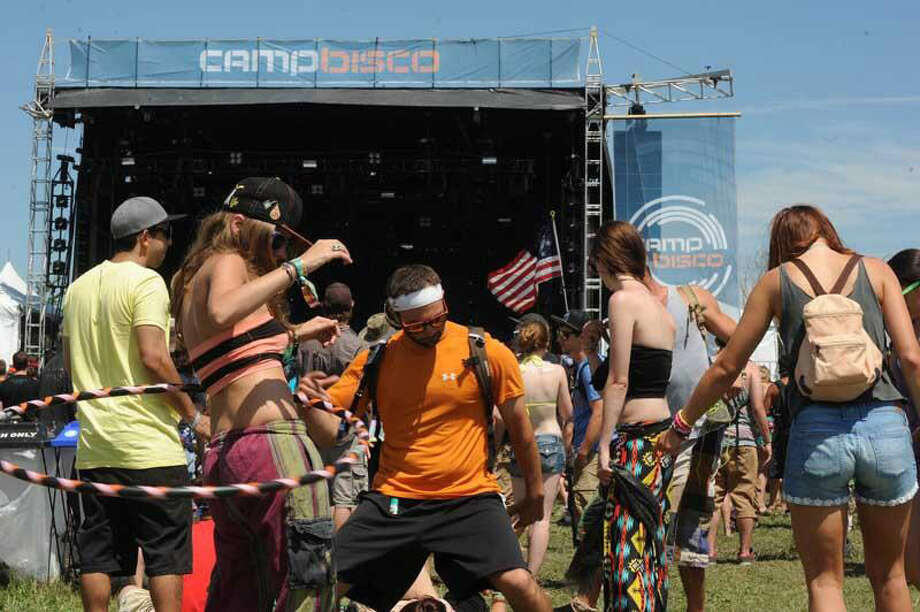 Let the dancing start at Camp Bisco. (Michael P. Farrell / Times Union)