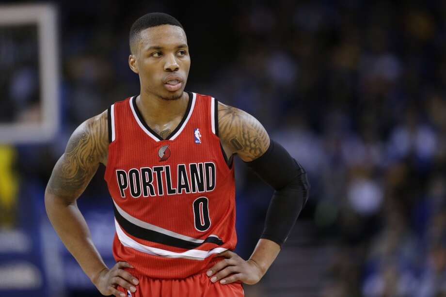 Team Hill Damian Lillard, Portland Trail Blazers - Sophomore Photo: Marcio Jose Sanchez, Associated Press