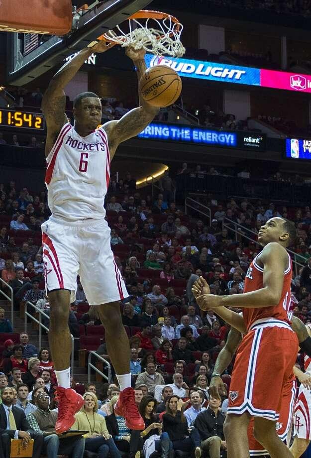 Team Hill Terrence Jones, Houston Rockets - Sophomore Photo: Smiley N. Pool, Houston Chronicle