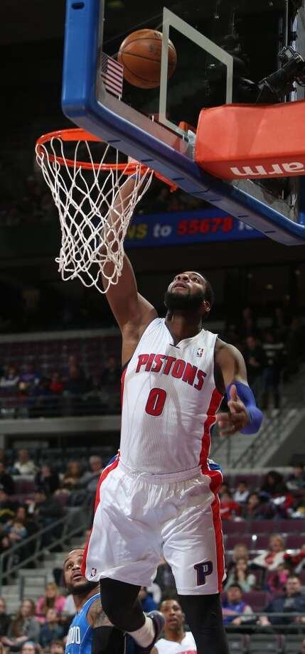 Team Hill Andre Drummond, Detroit Pistons - Sophomore Photo: Kirthmon F. Dozier, McClatchy-Tribune News Service