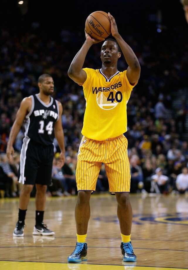 Team Hill Harrison Barnes, Golden State Warriors - Sophomore Photo: Ezra Shaw, Getty Images