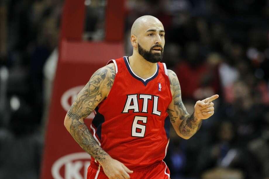 Team Hill Pero Antic, Atlanta Hawks - Rookie Photo: Todd Kirkland, Associated Press