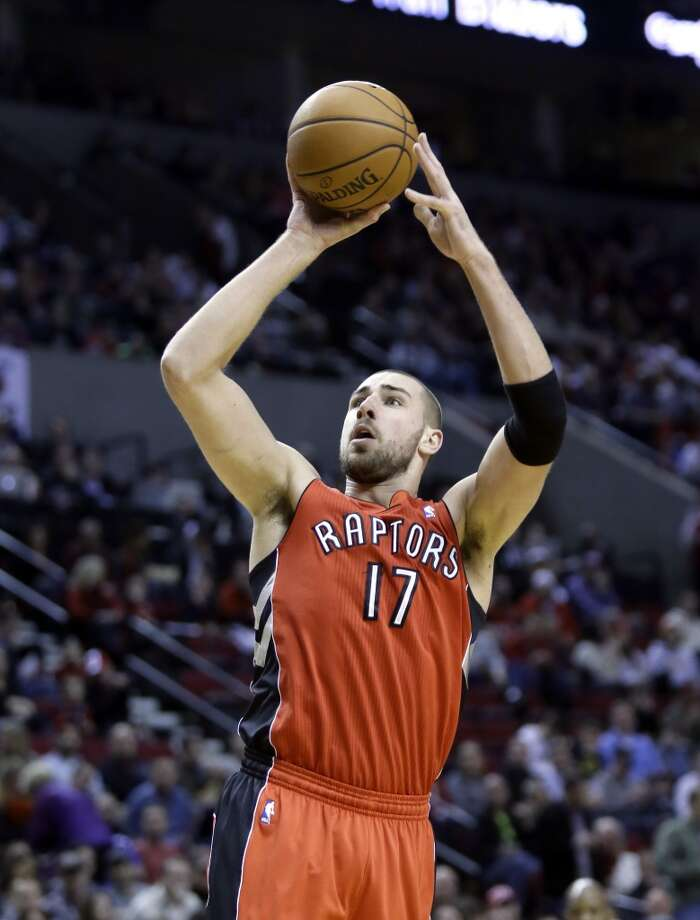 Team Hill Jonas Valanciunas, Toronto Raptors - Sophomore Photo: Don Ryan, Associated Press