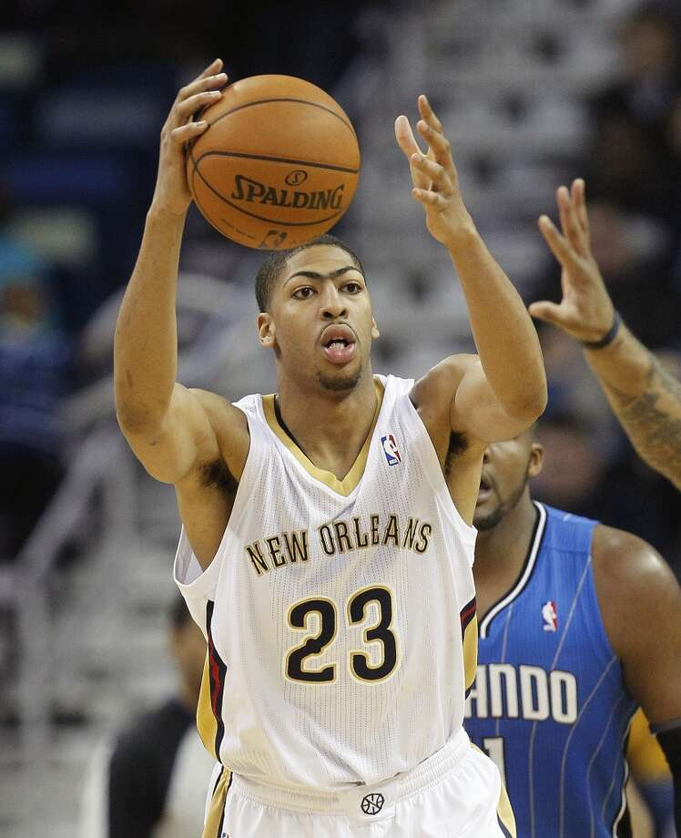 Team Webber Anthony Davis, New Orleans Pelicans - Sophomore Photo: Bill Haber, Associated Press