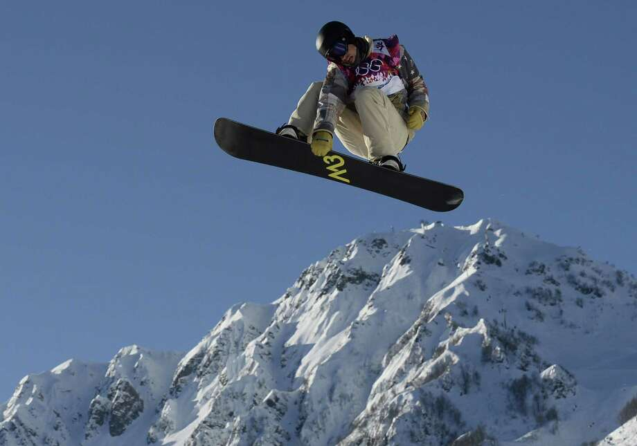 US Charles Guldemond competes in the Men's Snowboard Slopestyle 1st heat qualification at the Rosa Khutor Extreme Park during the Sochi Winter Olympics on February 6, 2014.  AFP PHOTO / FRANCK FIFEFRANCK FIFE/AFP/Getty Images ORG XMIT: 461603693 Photo: FRANCK FIFE / AFP