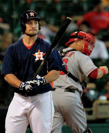 The Astros designated first baseman Brett Wallace for assignment to open up space on the roster. Photo: Cody Duty, Staff / © 2013 Houston Chronicle
