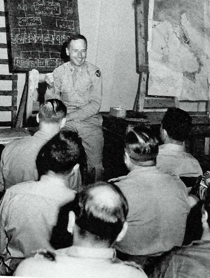 Captain Mason Hammond, father of Cos Cob resident Florence Phillips, was a monuments man during WWII. Photo: Contributed Photo / Greenwich Time