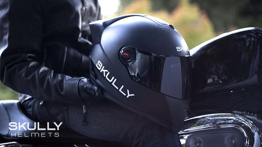 The Skully full-face helmet.