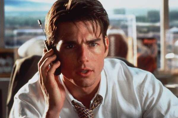 Jerry Maguire (1996) is about an out of work sports agent that goes on his own with his only athlete to put his philosophy to the test.