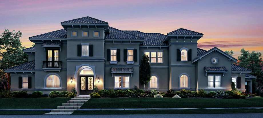 This 5,934-square-foot home, in the Parklake Village neighborhood in Katy, is built by Avanti Custom Homes, a division of Trendmaker Homes. It has been certified as an LEED (Leadership in Energy and Environmental Design) home.