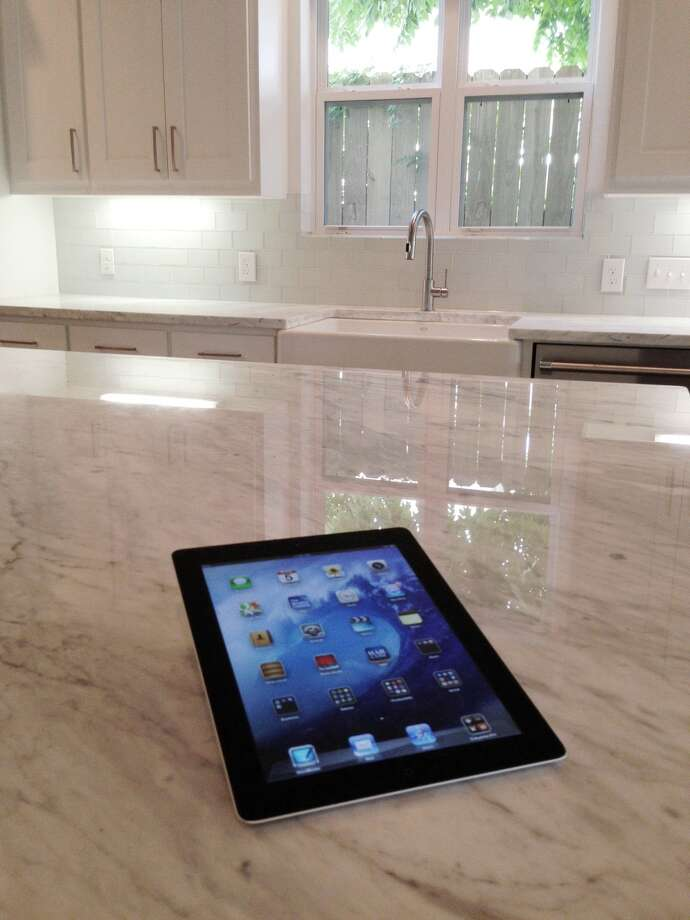 One device — table, smart phone, computer — can control the automated systems of an entire home.