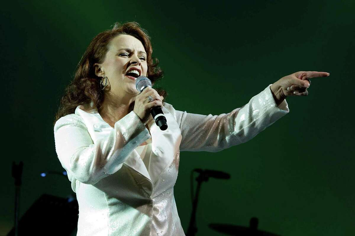 Singer Sheena Easton performs during a concert in Seoul, South Korea in 2010. Easton, who lives in Las Vegas, will make the trip out East to perform in Fairfield, Conn., on Friday, Feb. 14, 2014. (Photo by Han Myung-Gu/WireImage) *** Local Caption *** Sheena Easton