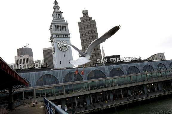 The Ferry Building is shown in San Francisco, Calif., on Monday, December 17, 2012.