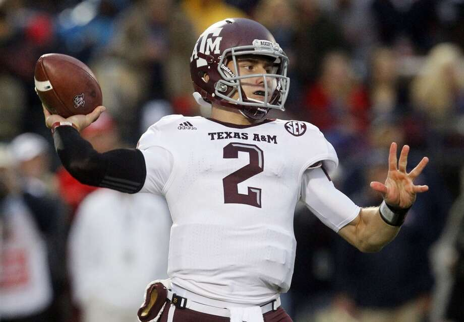 Johnny Manziel  Quarterback  Texas A&M Photo: Rogelio V. Solis, Associated Press