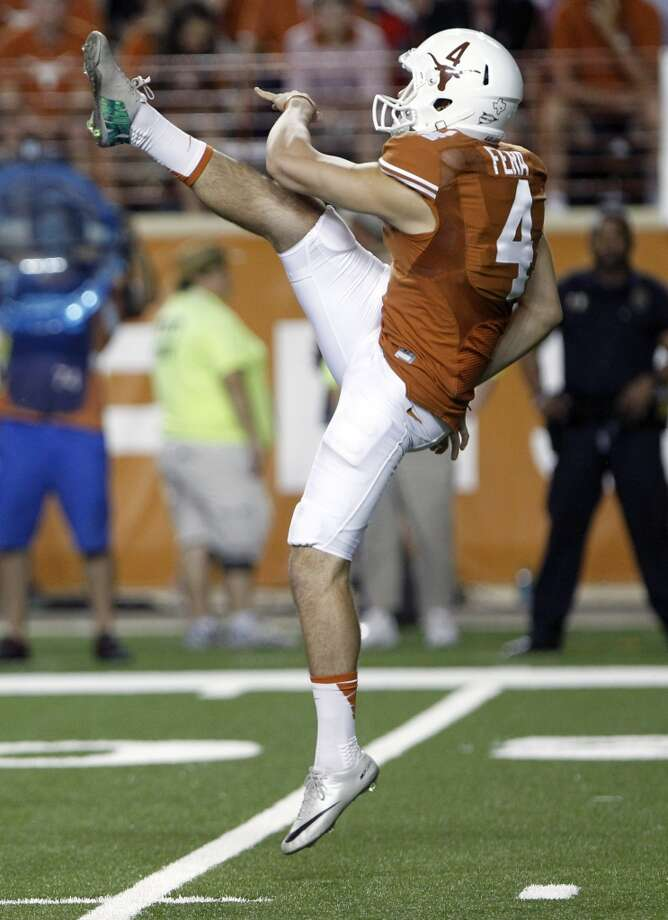 Anthony Fera  Kicker/punter  Texas Photo: Michael Thomas, Associated Press