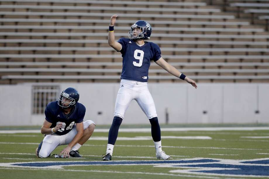 Chris Boswell  Kicker  Rice Photo: Thomas B. Shea, For The Chronicle
