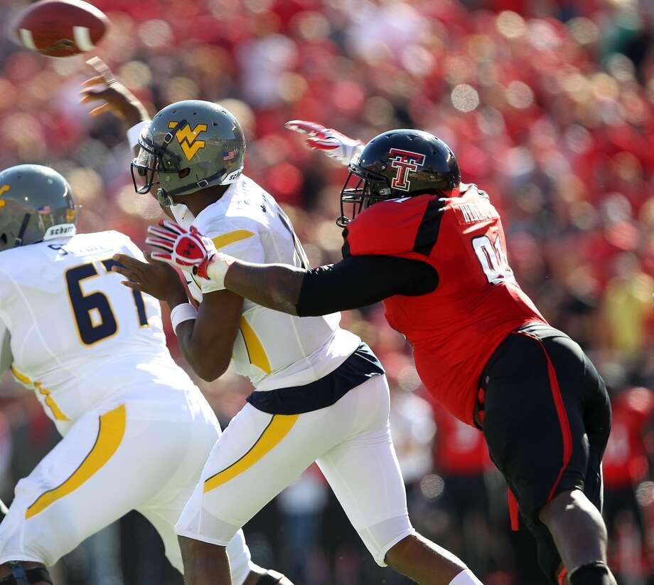 Kerry Hyder  Defensive tackle  Texas Tech Photo: Stephen Spillman, Associated Press