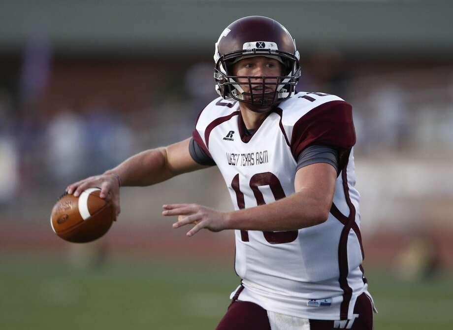 Dustin Vaughan  Quarterback  West Texas A&M Photo: Jim Cowsert, Associated Press