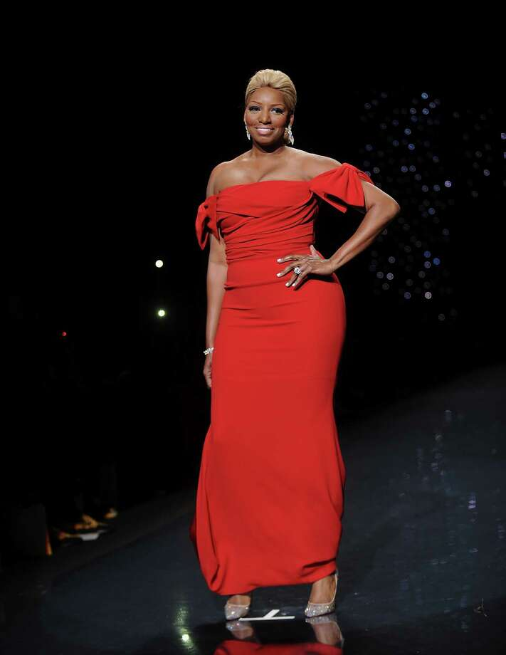 Actress and TV personality NeNe Leakes models an outfit. Photo: Brad Barket, Associated Press / AP2014