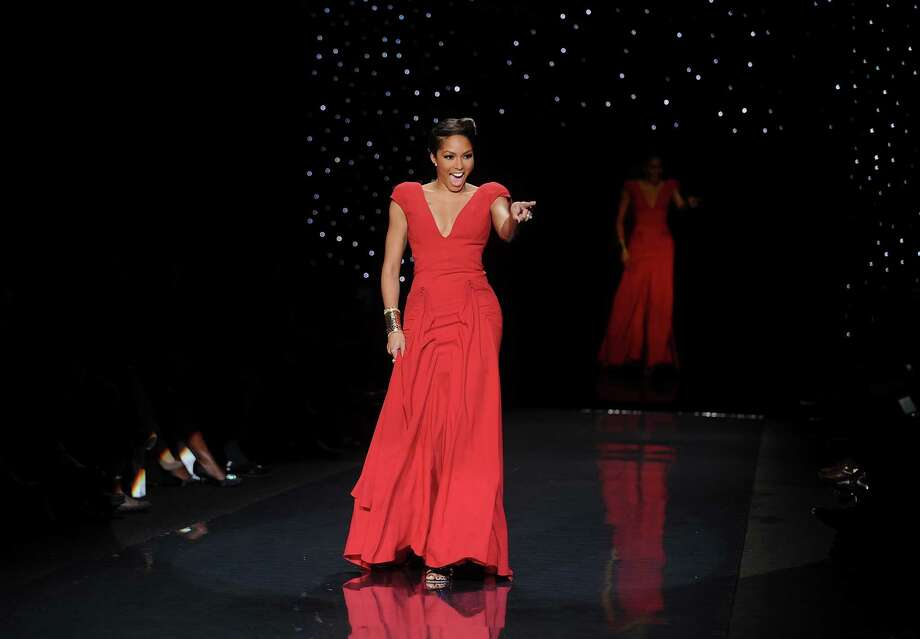 TV personality Alicia Quarles models an outfit. Photo: Brad Barket, Associated Press / AP2014