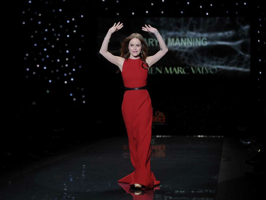American actress Taryn Manning models an outfit  Photo: Brad Barket, Associated Press / AP2014