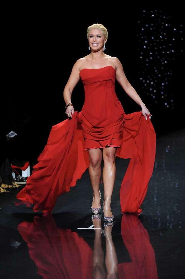 TV personality Jill Martin walks the runway. Photo: Brad Barket, Associated Press / AP2014