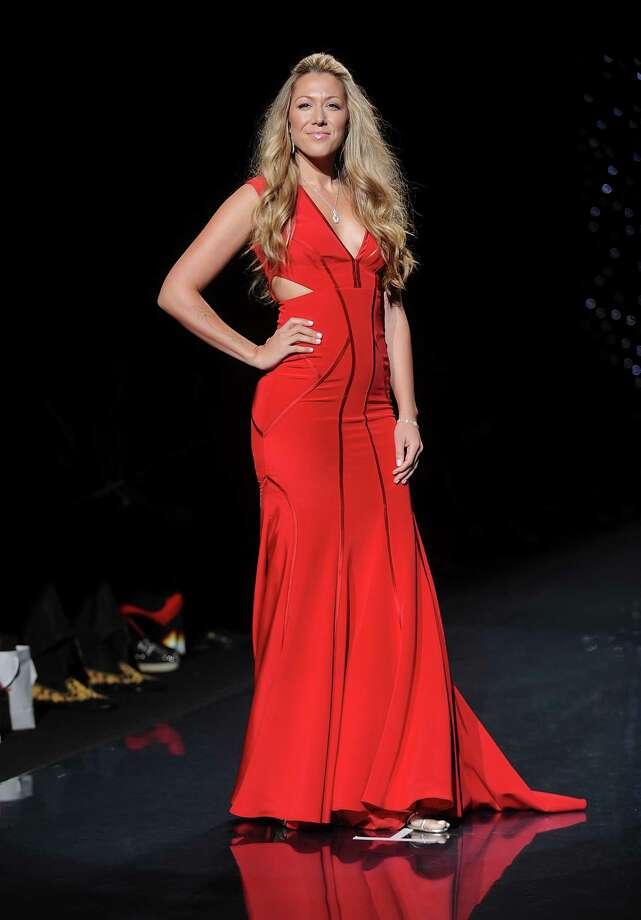 Singer Colbie Caillet models an outfit. Photo: Brad Barket, Associated Press / AP2014