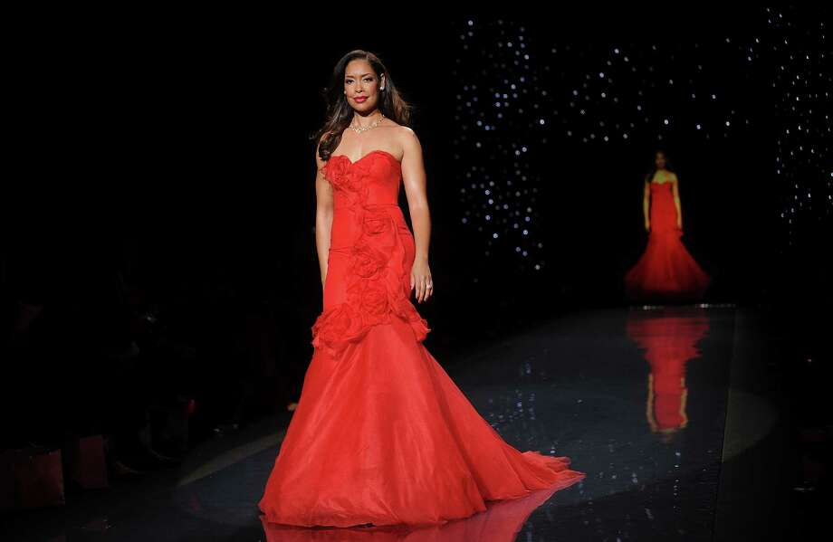 Actress Gina Torres models an outfit. Photo: Brad Barket, Associated Press / AP2014