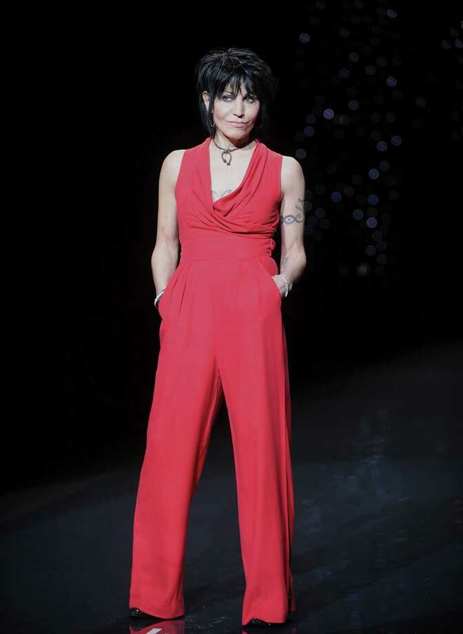 Musician Joan Jett models an outfit. Photo: Brad Barket, Associated Press / AP2014