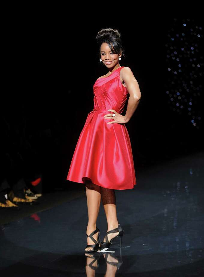 Actress Anika Noni Rose models an outfit. Photo: Brad Barket, Associated Press / AP2014