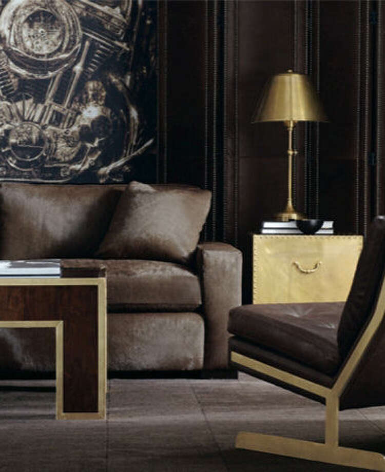 Bernhardt unveiled many pieces with gold accents in collections last fall. Photo: Courtesy Bernhardt