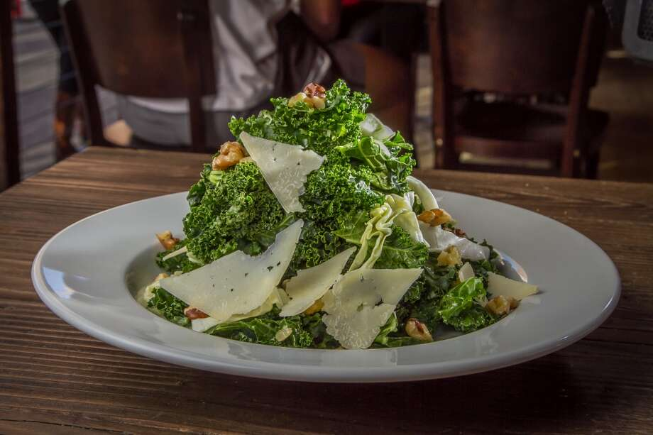 The Santa Barbara Kale Salad at Eureka in Berkeley. Photo: John Storey