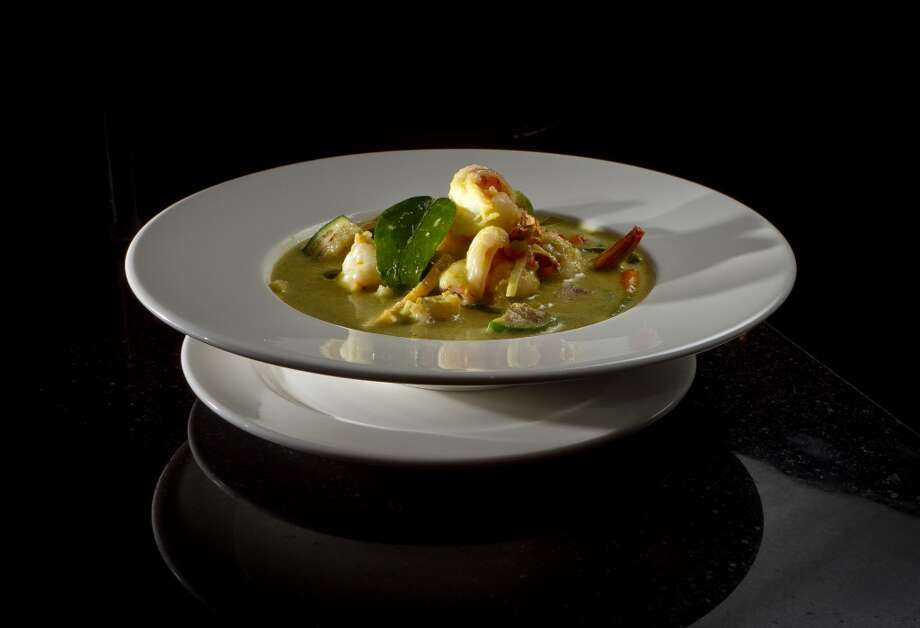The Green Curry with Shrimp at Lers Ros restaurant in San Francisco, Calif., is seen on Friday, January13th,  2012. Photo: Special To The Chronicle