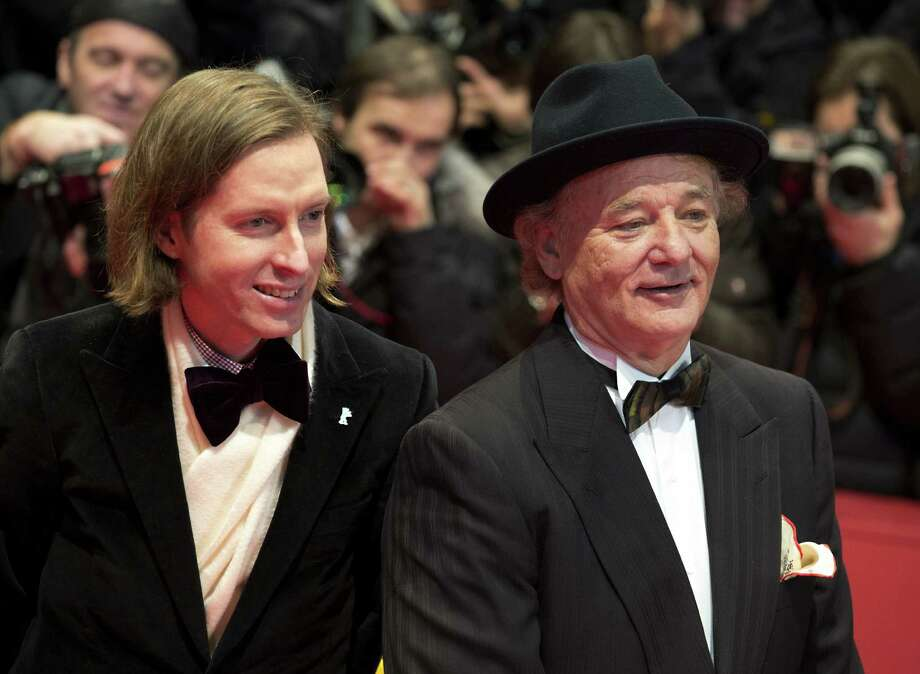He has a whole motley crew of famous friendsIt seems Wilson was just the beginning. In addition to Owen and Luke Wilson, Anderson (left) routinely collaborates with Hollywood greats, including Bill Murray (right), Jason Schwartzman, Roman Coppola, and musician Mark Mothersbaugh. Photo: Axel Schmidt / Associated Press / AP