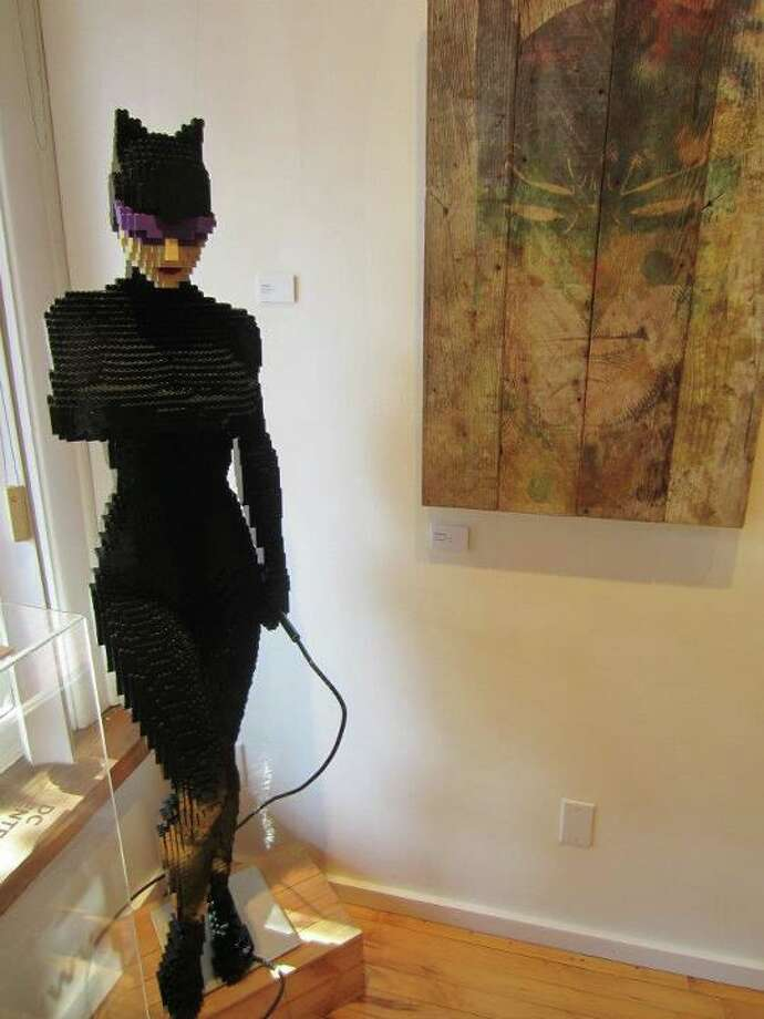 Catwoman Lego statue Photo: For The Chronicle