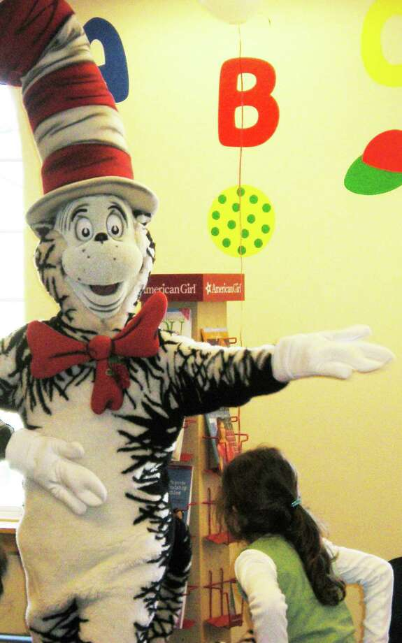 The Cat in  the Hat will make an appearance at the Fairfield University downtown bookstore on March 1 to celebrate Read Across America and the birthday of Dr. Seuss. Photo: Contributed Photo / Fairfield Citizen