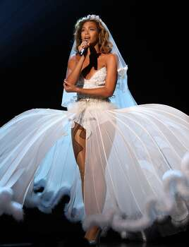 Beyonce onstage at the 2009 BET Awards at the Shrine Auditorium on June 28, 2009 in Los Angeles. Photo: John Shearer, WireImage