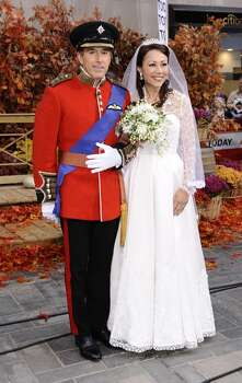 "Matt Lauer as Prince William and Ann Curry as Kate Middleton appear on NBC News' ""Today"" show in 2011. Photo: NBC NewsWire, NBC NewsWire Via Getty Images"