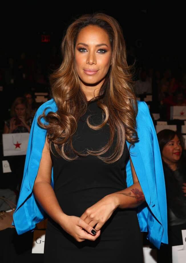 Singer Leona Lewis attends Go Red For Women The Heart Truth Red Dress Collection fashion show during Mercedes-Benz Fashion Week at The Theatre at Lincoln Center on February 6, 2014 in New York City.  (Photo by Astrid Stawiarz/Getty Images) Photo: Astrid Stawiarz, Getty Images