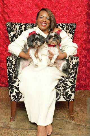 Jackie Adams makes a statement with dramatic flair - Houston Chronicle